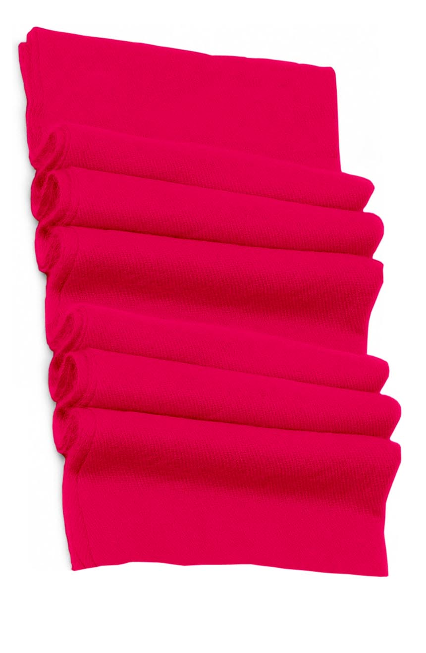 Pure cashmere blanket for baby in hot pink super soft promotes the best sleep.