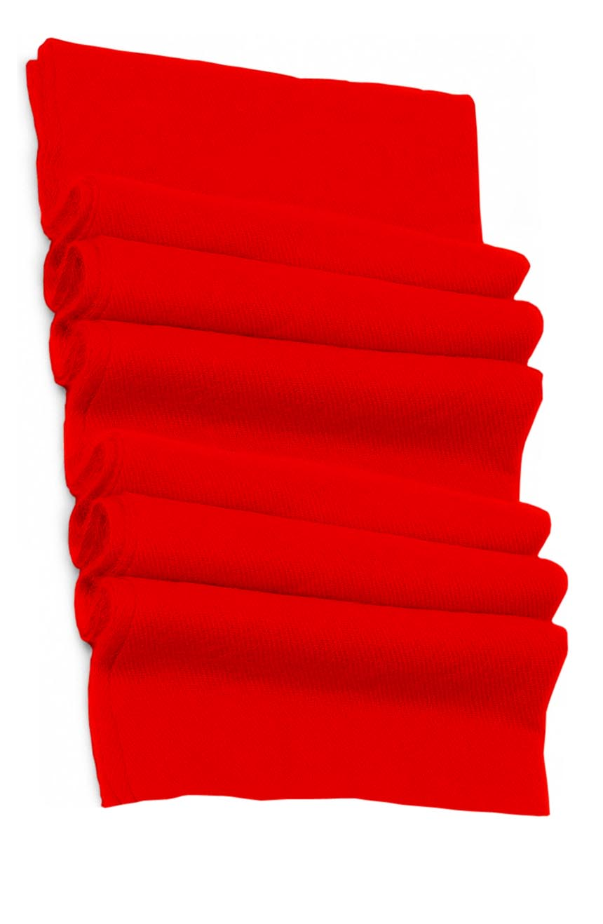 Pure cashmere blanket for baby in red super soft promotes the best sleep.