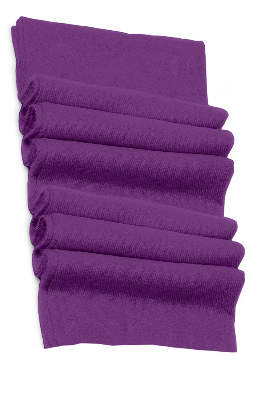 Pure cashmere blanket for baby in light purple super soft promotes the best sleep.