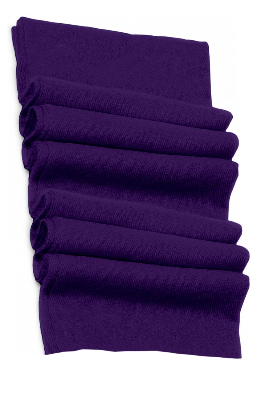 Pure cashmere blanket for baby in purple super soft promotes the best sleep.