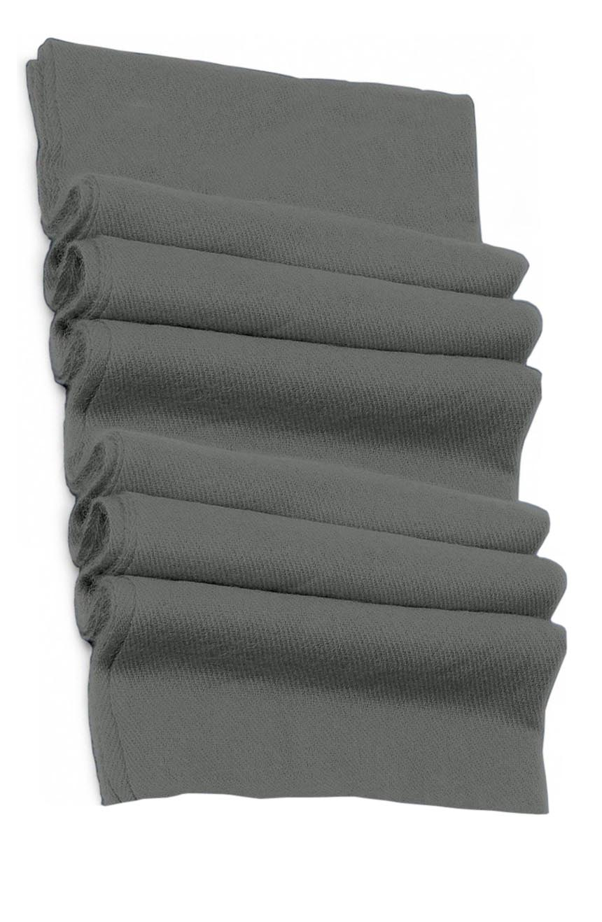 Pure cashmere blanket for baby in silver grey super soft promotes the best sleep.