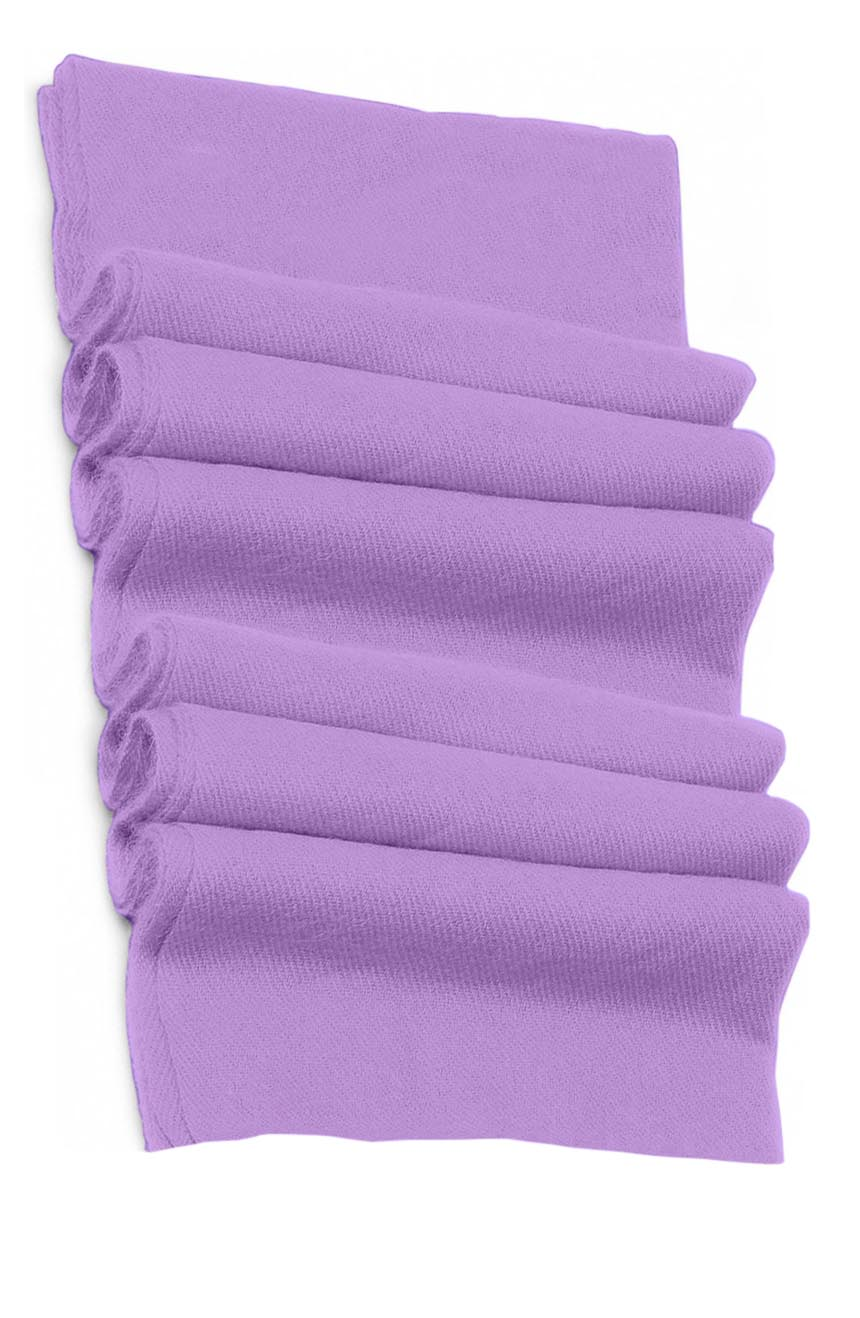 Pure cashmere blanket for baby in lavender super soft promotes the best sleep.