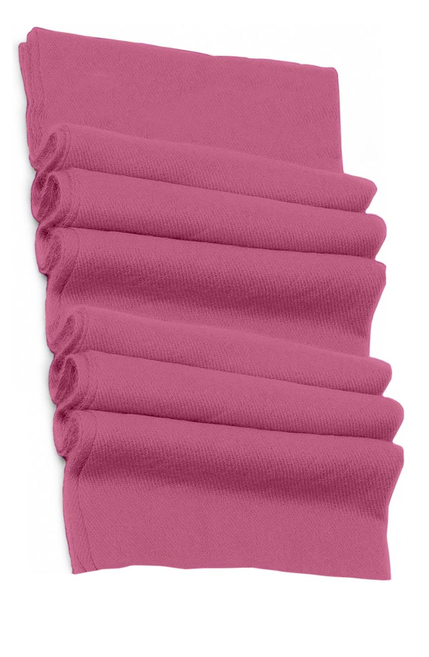 Pure cashmere blanket for baby in Persian pink super soft promotes the best sleep.