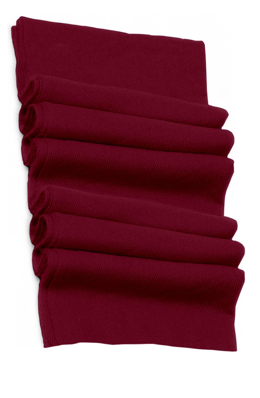 Pure cashmere blanket for baby in Tyrian purple super soft promotes the best sleep.