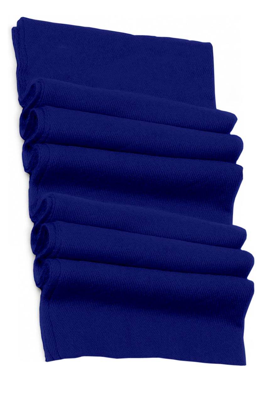 Pure cashmere blanket for baby in Persian blue super soft promotes the best sleep.