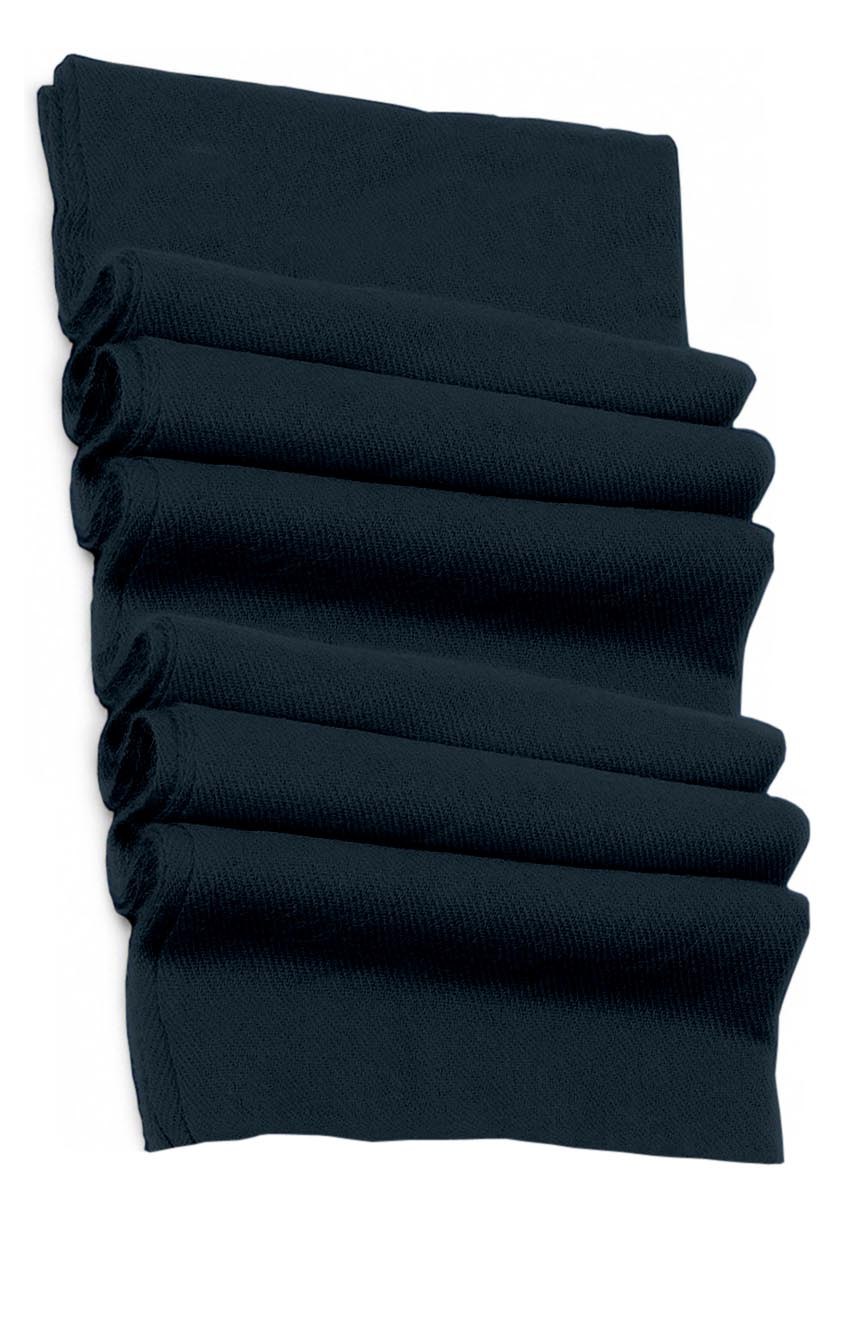 Pure cashmere blanket for baby in dark blue super soft promotes the best sleep.