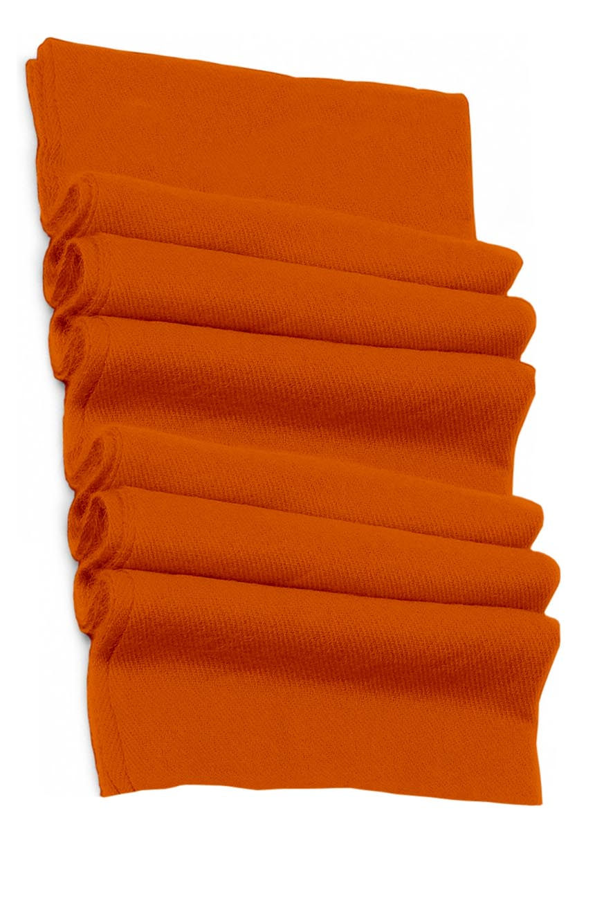 Pure cashmere blanket for baby in carrot super soft promotes the best sleep.