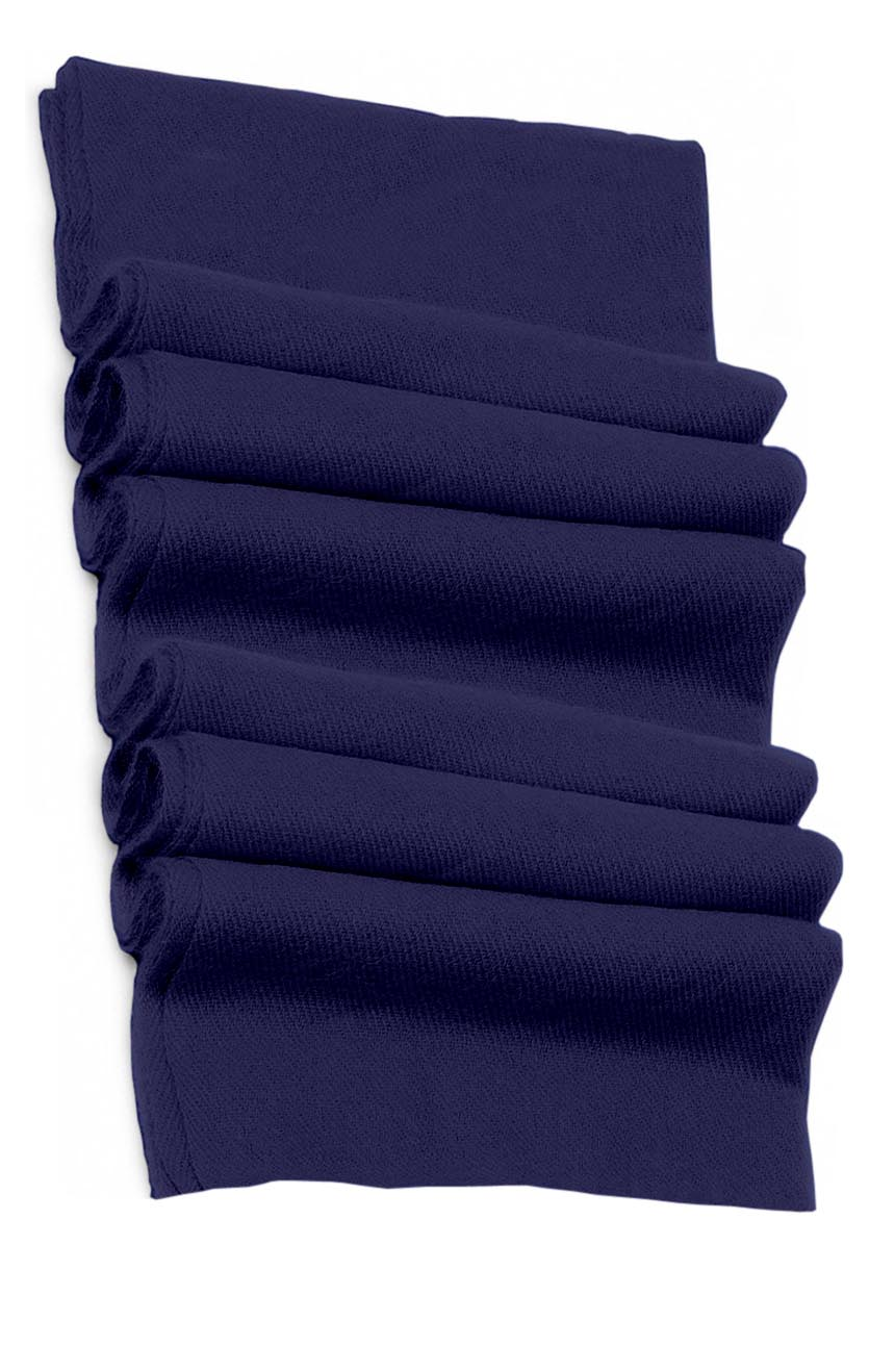 Pure cashmere blanket for baby in navy super soft promotes the best sleep.