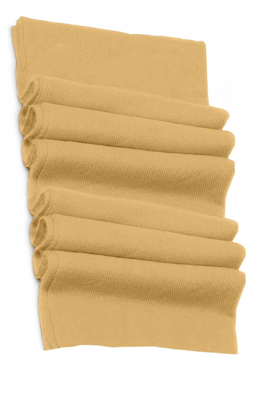Pure cashmere blanket for baby in wheat super soft promotes the best sleep.