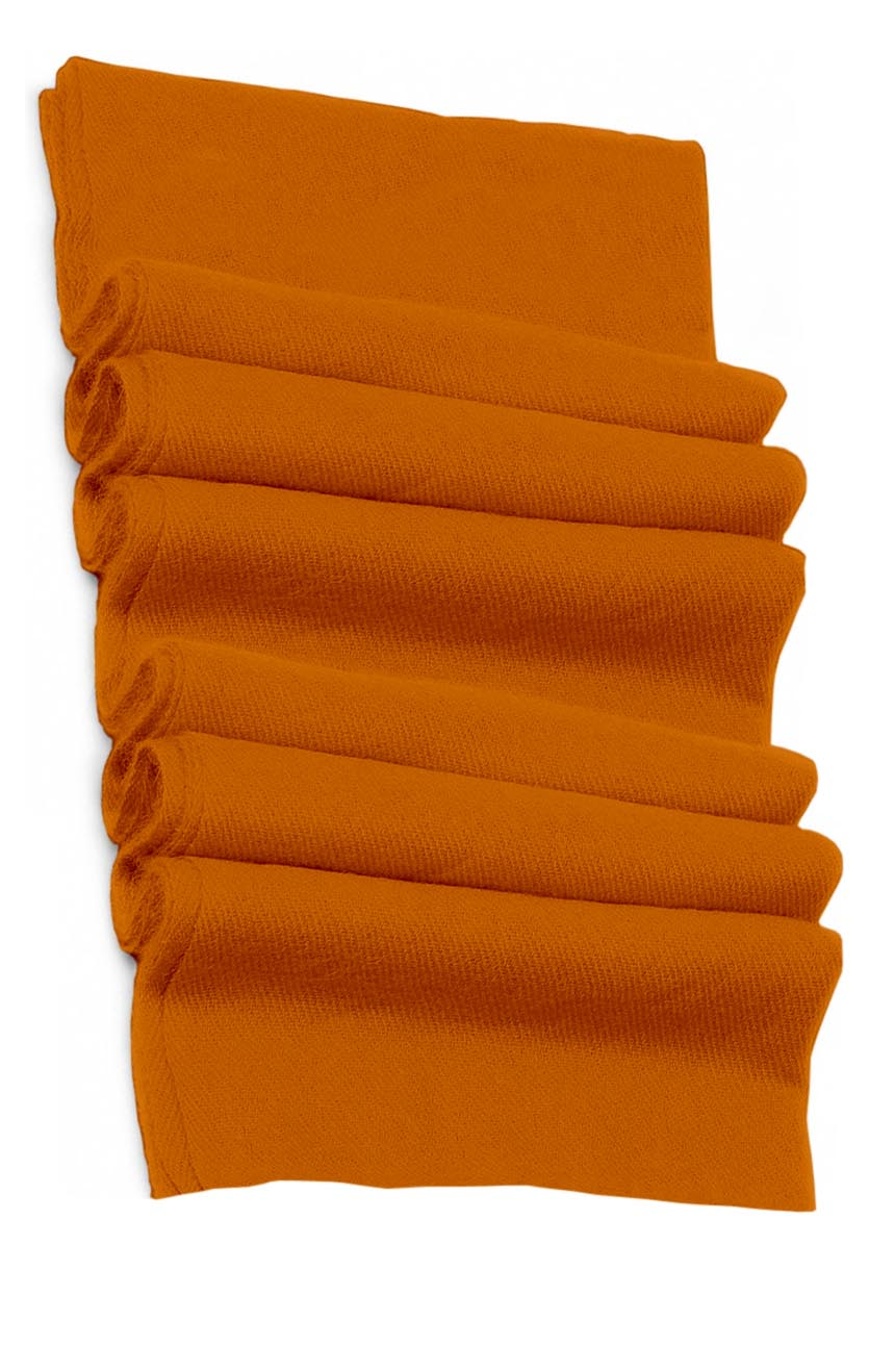 Pure cashmere blanket for baby in ginger super soft promotes the best sleep.