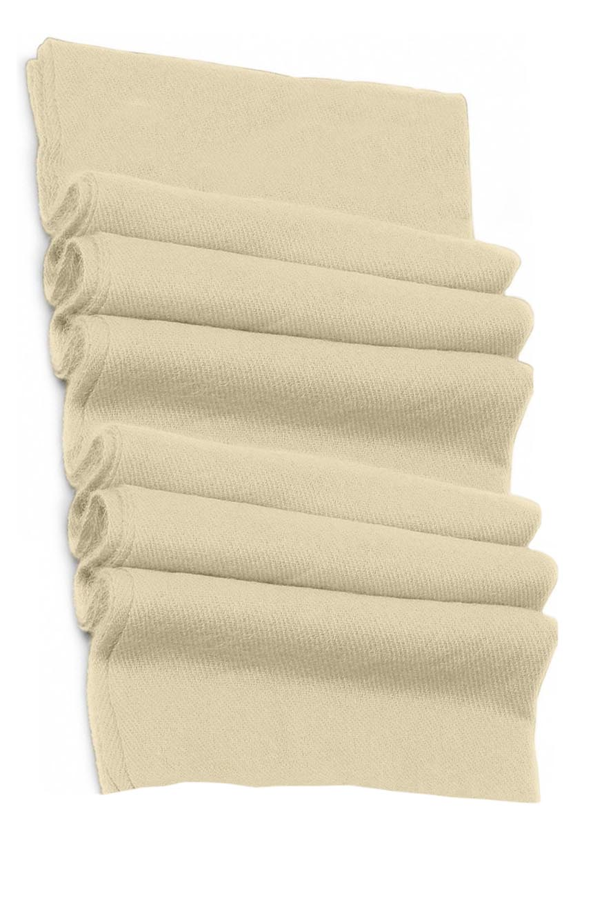 Pure cashmere blanket for baby in off-white super soft promotes the best sleep.