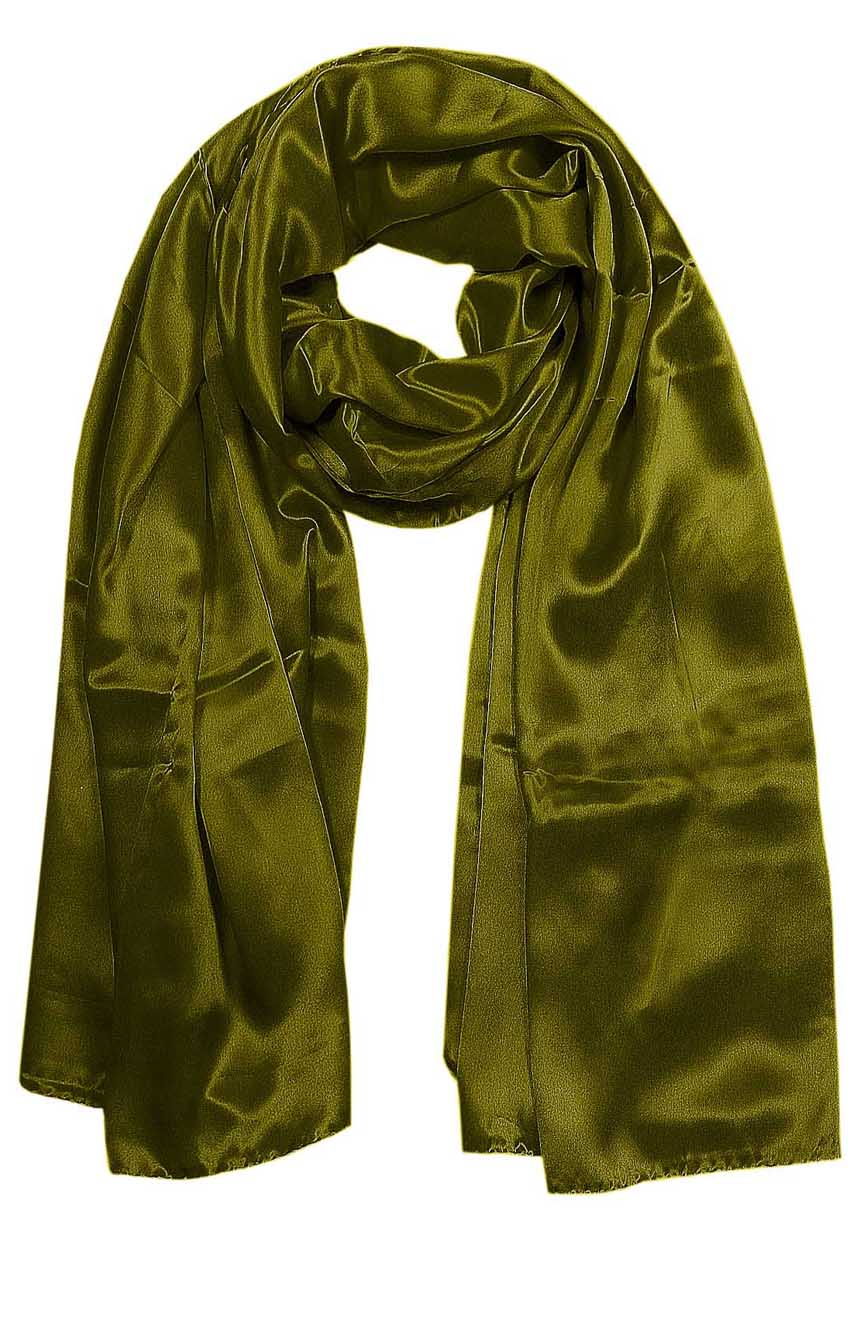 Womens silk neck scarf in henna 22×75 inches with plenty of material to wrap around the head or shoulders in many ways.